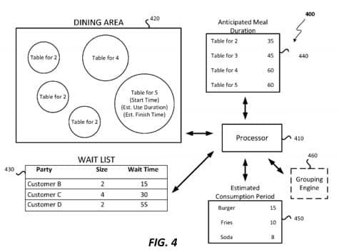 Apple patent reveals restaurant ordering, reservation system