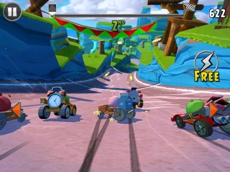 Apps: Angry Birds Go, GTA: San Andreas, The Room 2 + Sonic 2 3.0