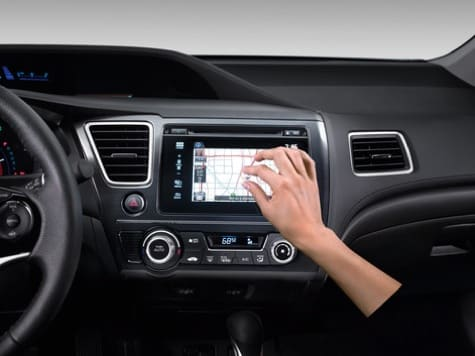 Honda announces iPhone-powered car touchscreen