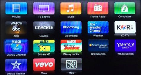 Apple TV adds ABC, Bloomberg, Crackle, KORTV