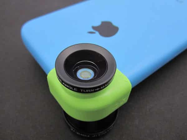 First Look: Olloclip 3-in-1 Photo Lens for iPhone 5c