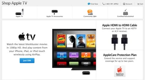 Report: Apple testing Apple TV with built-in router, TV tuner