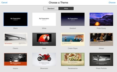 iWork for iCloud gets redesign, new features