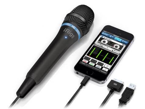 IK Multimedia debuts iRig Mic HD microphone
