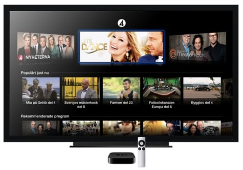 TV4 Play added to Apple TV in Sweden
