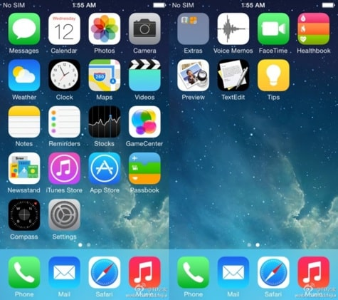 Healthbook, Preview, and TextEdit iOS 8 icons leaked