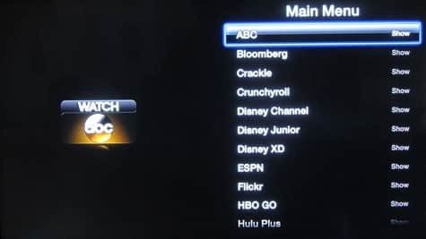 Apple TV 6.1 update released, allows users to hide channels