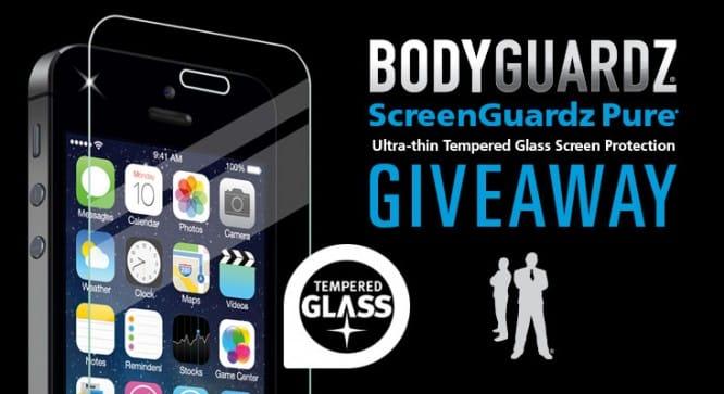 Bodyguardz ScreenGuardz Pure Giveaway – Winners Announced