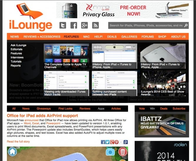 Welcome to the new iLounge.com!