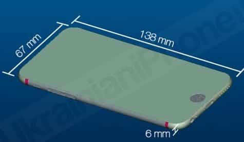 New alleged iPhone 6 renderings include measurements