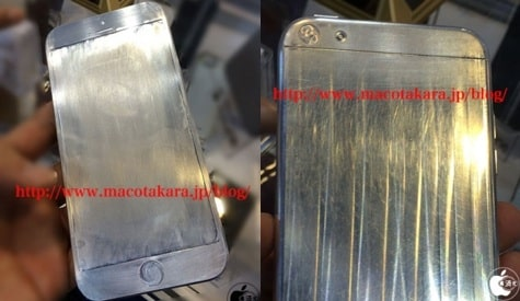 iPhone 6 metal mockups spotted at electronics show