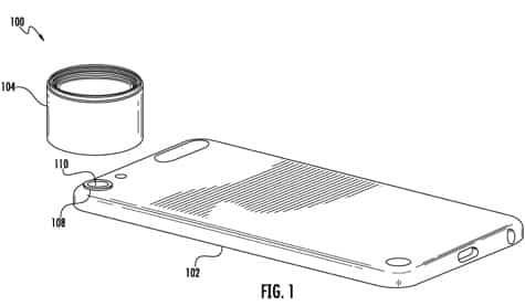Apple granted patent for camera lens mount
