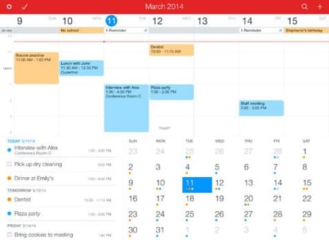 Apps: AmpliTube Orange, Fantastical 2, IFTTT 2.0 + Monument Valley