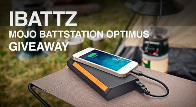 iBattz Mojo Battstation Optimus Giveaway – Winners Announced