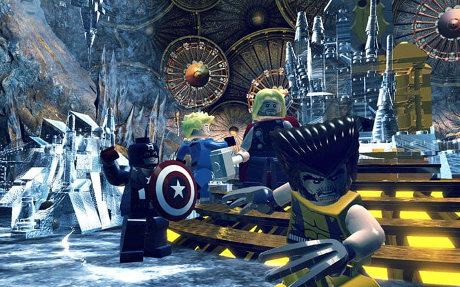 Feral Interactive Lego Marvel Super Heroes