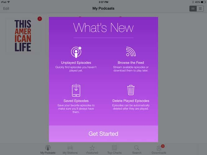 Apple updates Podcasts, iTunes Connect apps