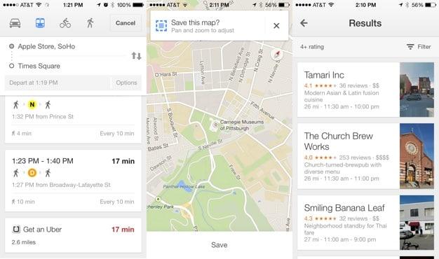 Apps: Google Maps 3.0, Intake, Republique 2.0 + Tumblr 3.6