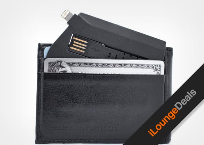 Daily Deal: ChargeCard – The Credit Card-Sized Lightning Cable for $25