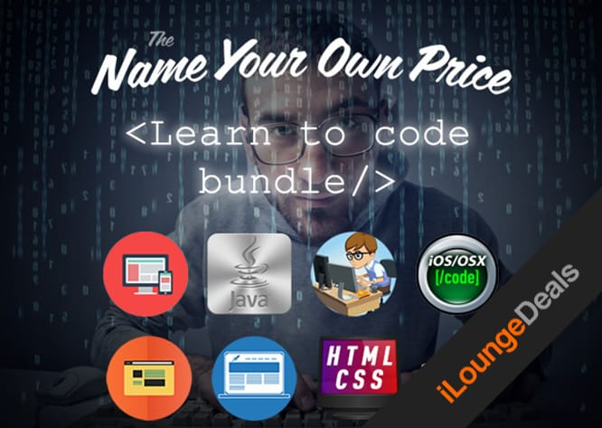 Daily Deal: The Name Your Own Price Learn to Code Bundle