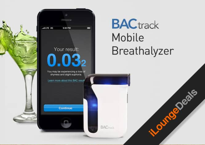 Daily Deal: 33% off iOS-Powered Mobile Breathalyzer