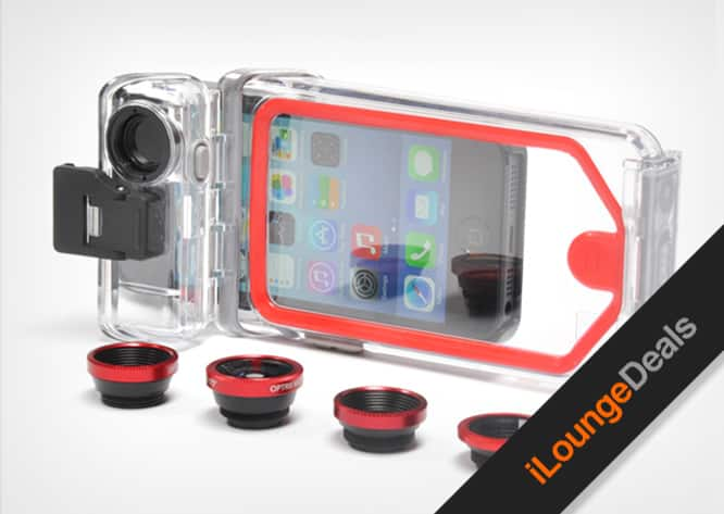 Daily Deal: Get $30 off the PhotoProX waterproof lens case for iPhone 5/5s