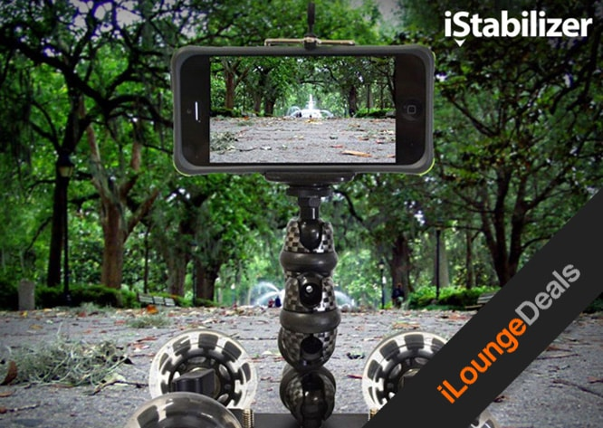 Daily Deal: Take Studio Quality Smartphone Video with with The iStabilizer Dolly