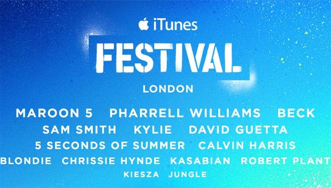 Eighth annual iTunes Festival announced