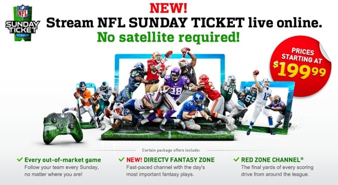 NFL Sunday Ticket to stream on iPad, iPhone with no satellite subscription (Update)