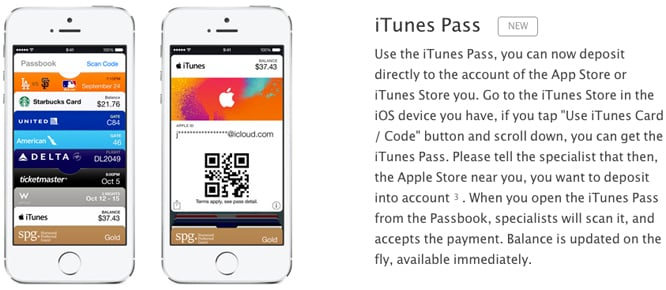Apple launches iTunes Pass credit system in Japan
