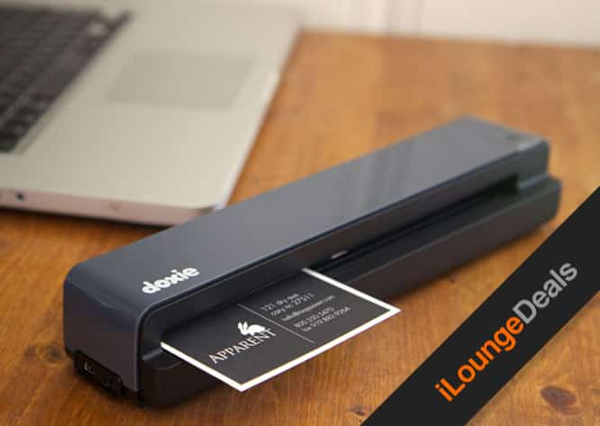 Daily Deal: Last Chance to get the Doxie One Portable Scanner for only $99
