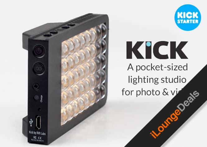 Daily Deal: KICK Smartphone-Controlled Lighting Studio, $149