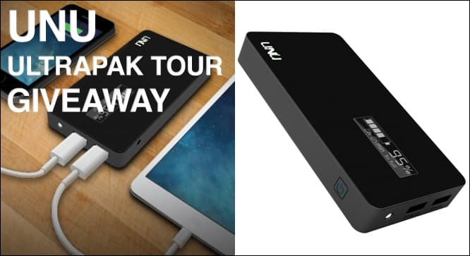 Unu Ultrapak Tour Giveaway – Winners Announced