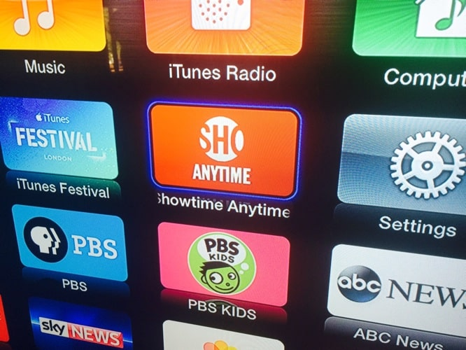 Showtime Anytime channel comes to Apple TV
