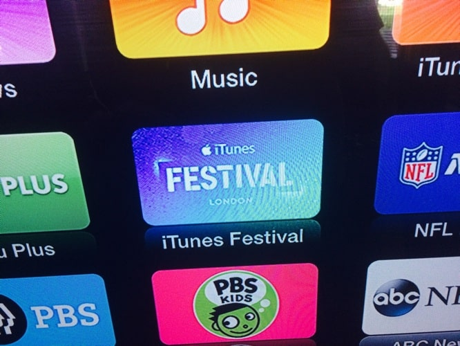 iTunes Festival channel returns to Apple TV