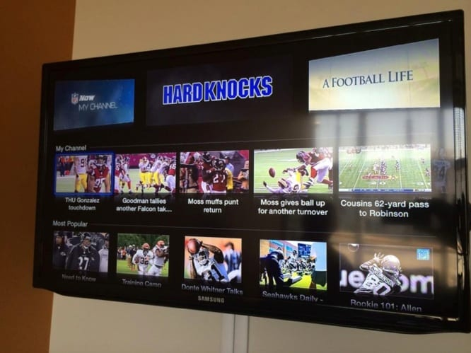 NFL Now channel coming to Apple TV this month