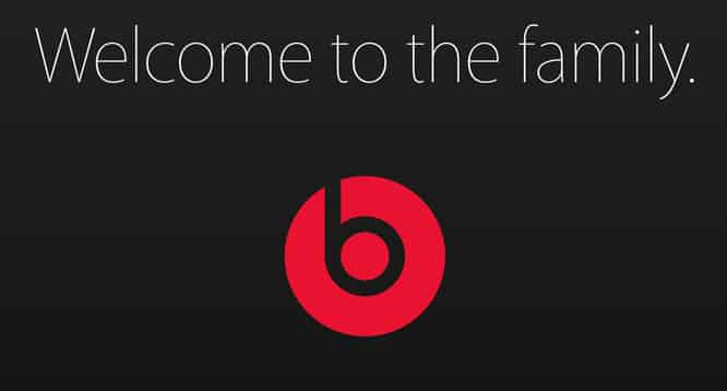Apple posts official Beats welcome announcement