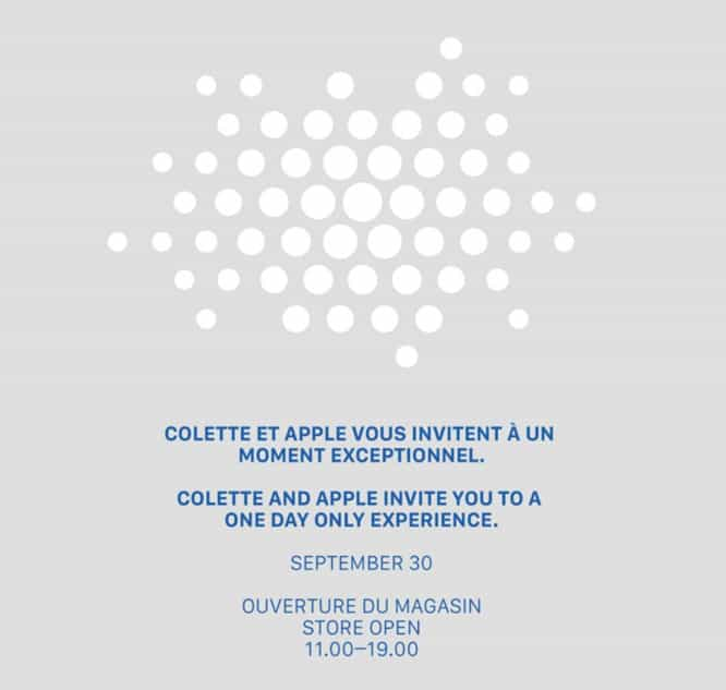 French fashion retailer Colette to hold in-store Apple event
