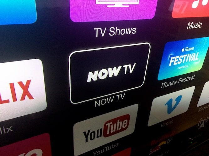 UK Apple TV adds Sky Movies, Entertainment to Now TV