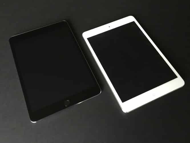 iPad mini 3 unboxing and comparison gallery posted