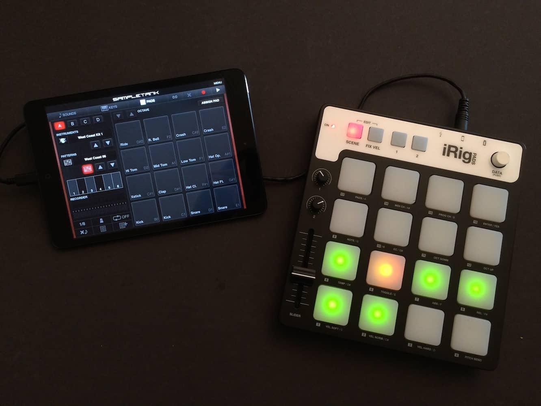 Review: IK Multimedia iRig Pads MIDI Groove Controller