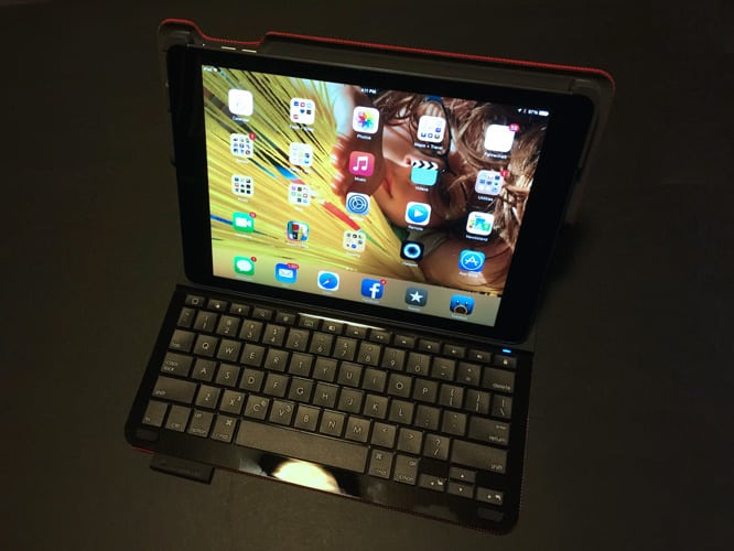 Review: Logitech Type+ Case With Keyboard For iPad Air