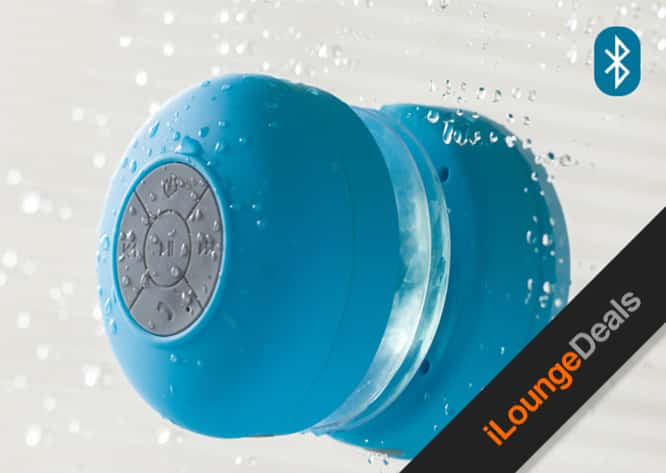 Daily Deal: Get a Bluetooth Shower Speaker for only $39