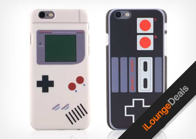 Daily Deal: The Retro Classics Nintendo + Gameboy iPhone 6/6+ Cases, only $14