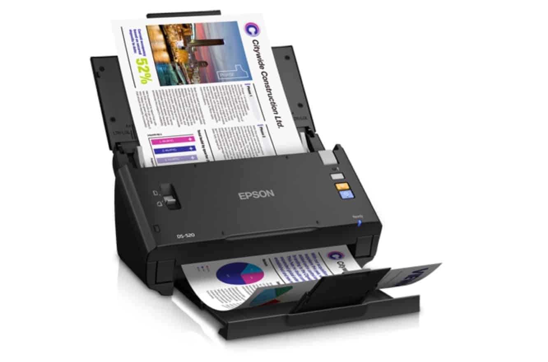 Epson WorkForce DS-520 Scanner