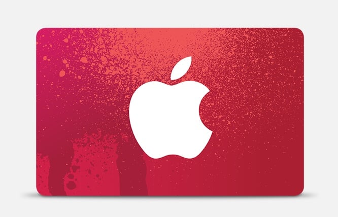 Apple announces (PRODUCT)RED Gift Cards for Black Friday