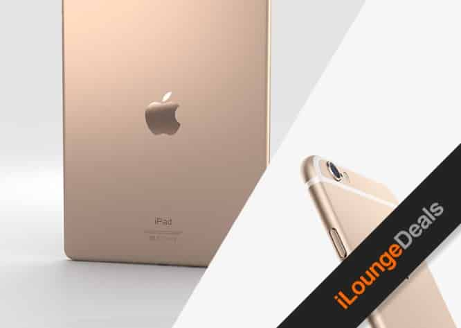 Daily Deal: Enter to win a Gold iPad Air 2 + a Gold iPhone 6