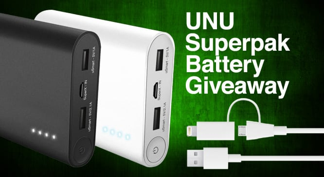 Unu Superpak Battery Giveaway – Winners Announced