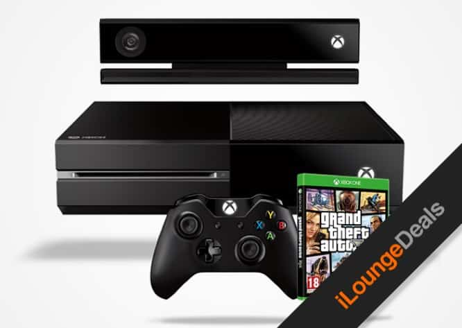 Daily Deal: The Xbox One + Grand Theft Auto V Giveaway