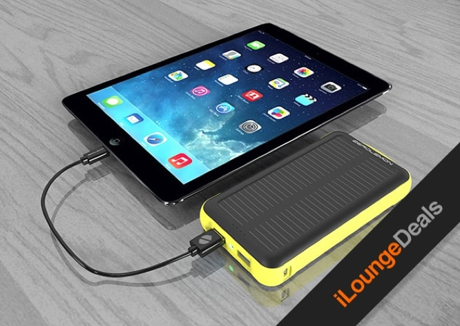 Daily Deal: Stay charged with the rugged ZeroLemon SolarJuice 20,000mAh battery backup
