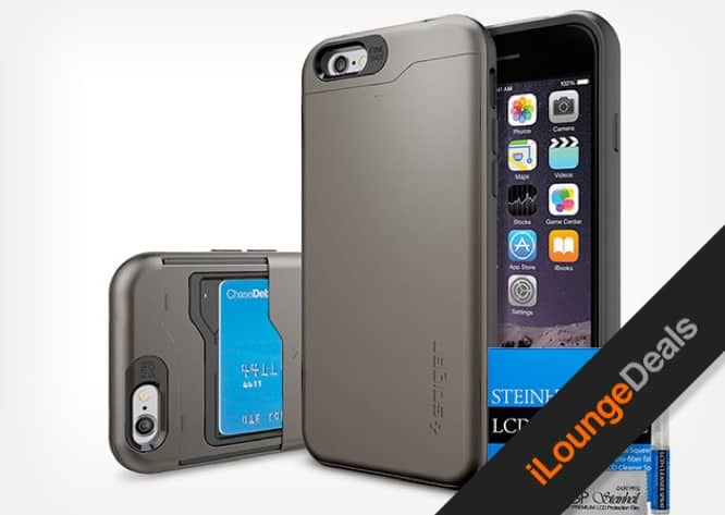 Daily Deal: Save Over 50% On the Spigen iPhone 6 Slim Armor Bundle
